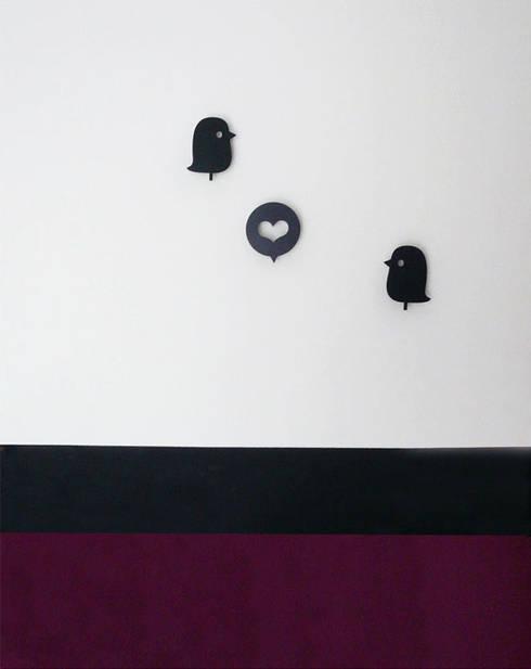 Détails de la décoration : Chambre de style  par Delphine Gaillard Decoration