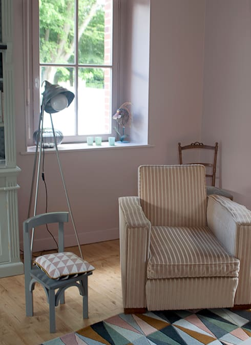 غرفة المعيشة تنفيذ Gwenaelle Hoyet