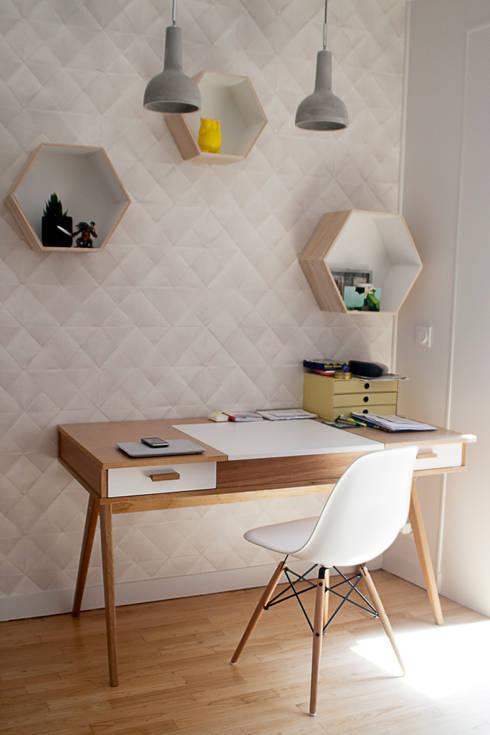Salas de estar escandinavas por Gwenaelle Hoyet