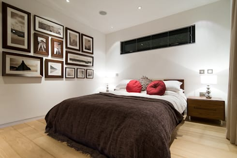The Edge: modern Bedroom by Boutique Modern Ltd