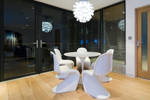 The Edge: modern Dining room by Boutique Modern Ltd
