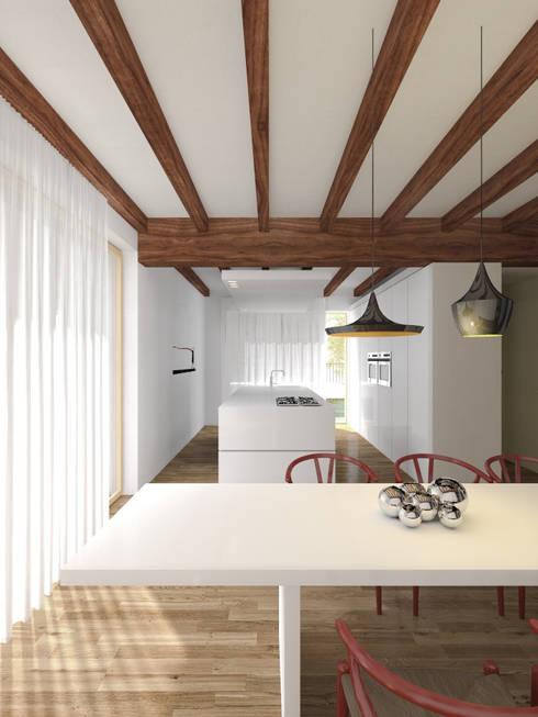 Interno_013:  in stile  di MIDE architetti