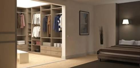 Begehbarer eckkleiderschrank  deinSchrank.de GmbH: Begehbare Kleiderschränke | homify