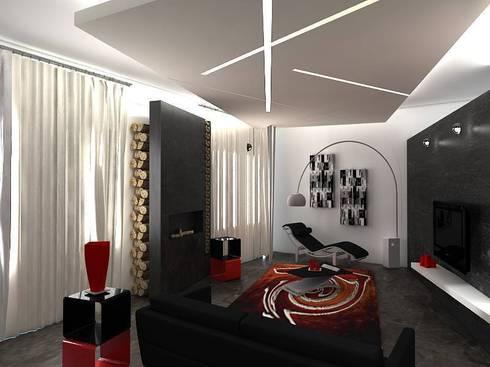 LOFT MILANO: Soggiorno in stile in stile Moderno di linea contemporanea  home