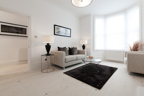 Dulwich : modern Living room by kt-id