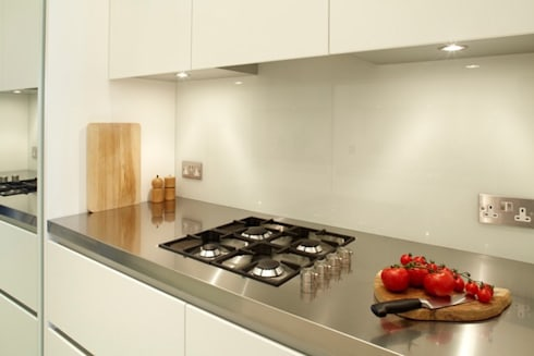 New Crane Wharf: modern Kitchen by TLA Studio