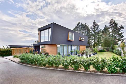 m3 architekten haus w in rottenburg homify. Black Bedroom Furniture Sets. Home Design Ideas