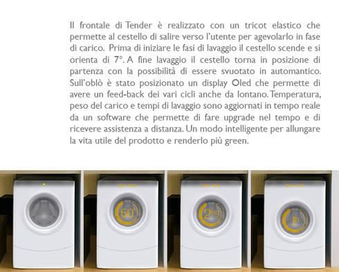 Tender:  in stile  di Gaudenzio Ciotti - Design Studio