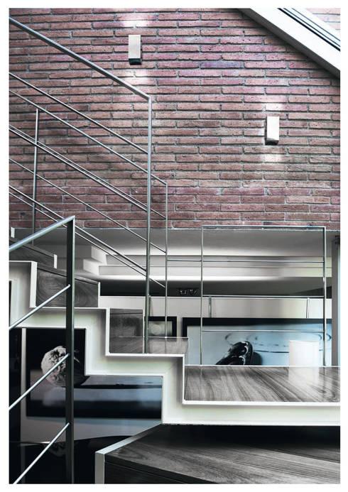 A-49: Balcones y terrazas de estilo  de Pujol Iluminacion