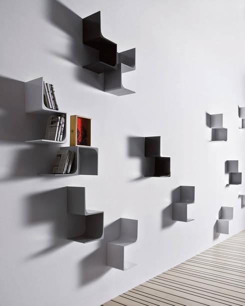 Mp3: Soggiorno in stile in stile Eclettico di Alpestudio