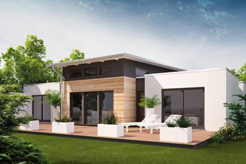 Bungalowserie Life von Bau mein Haus - eine Marke der Green Building ...