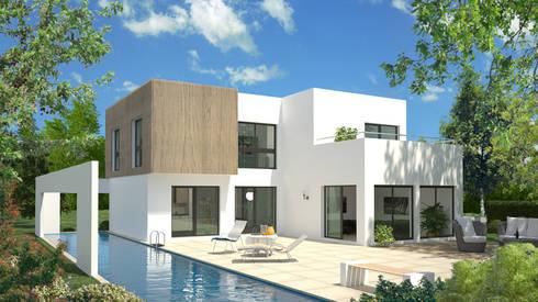 Bauhausserie von Bau mein Haus - eine Marke der Green Building ...