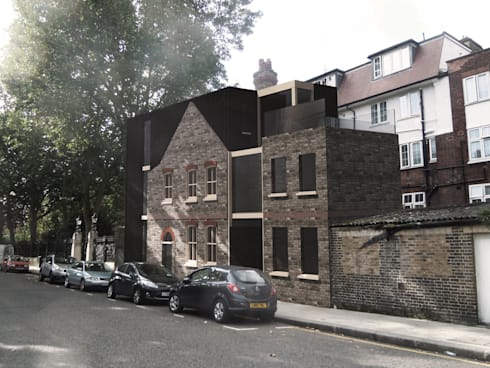 House Conversion, Kensington: industrial Houses by RS Architects