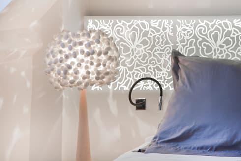 Hotel Chevanel Paris - Krion Solid Surface: eclectic Bedroom by Porcelanosa Scotland
