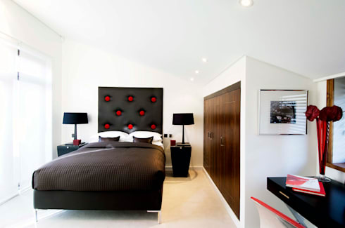 London NW8: modern Bedroom by kt-id