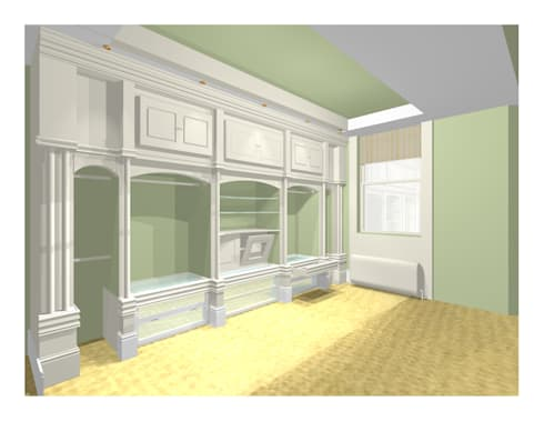 CAD DRAWING: country Dressing room by 2A Design