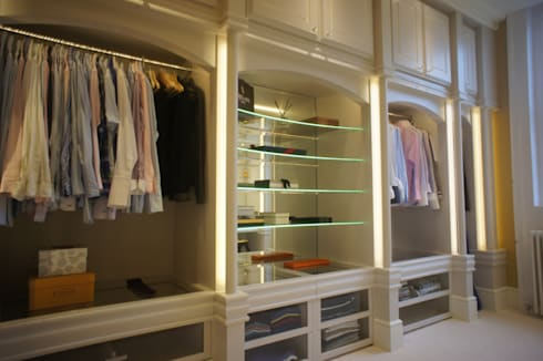 DRESSING ROOM FOR PRIVATE CLIENT: country Dressing room by 2A Design