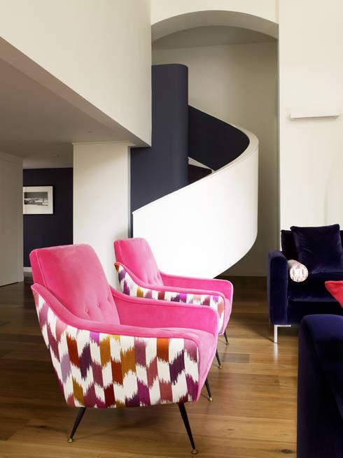 LEIVARS: eklektik tarz tarz Oturma Odası