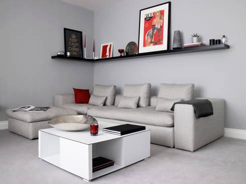 Marylebone: modern Living room by LEIVARS