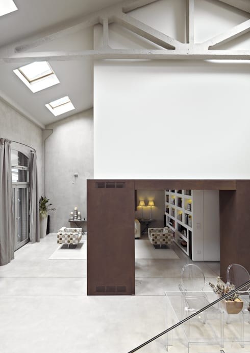 battistellArchitetti: minimal tarz tarz Oturma Odası