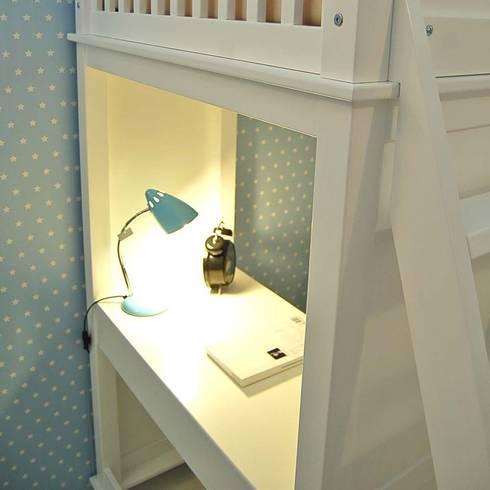 Multifunktions Hochbett gemütlicher schlafplatz und lernecke zugleich erhalten sie mit