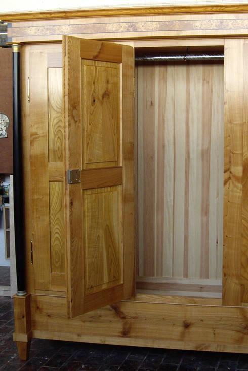 schlafzimmer in massiv kirschbaum por kunst und m beltischlerei conrad homify. Black Bedroom Furniture Sets. Home Design Ideas