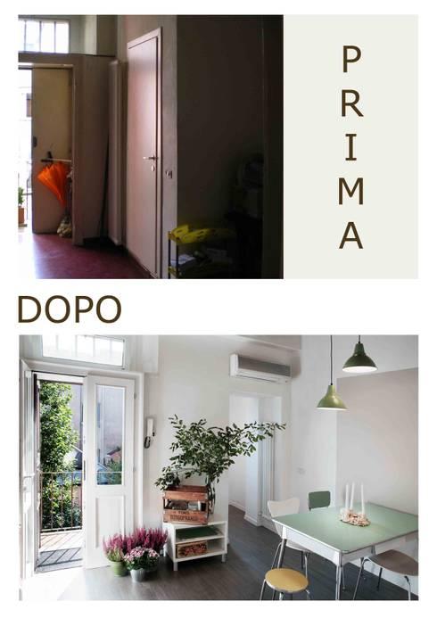 ingresso: Case in stile in stile Moderno di marta novarini architetto
