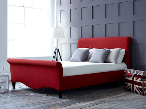Macy Bed: modern Bedroom by Living It Up