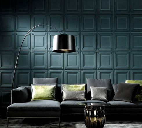 Papel Tapiz ARTE: Salas de estilo clásico por Interior 3