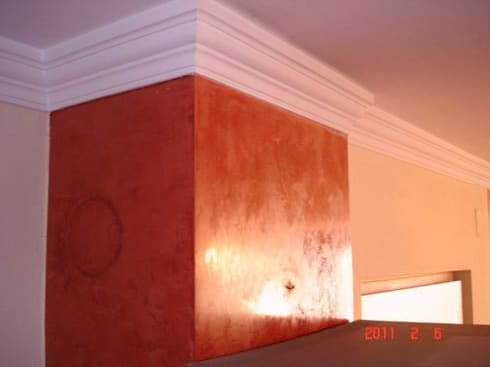 spachteltechnik von malek malerei homify. Black Bedroom Furniture Sets. Home Design Ideas