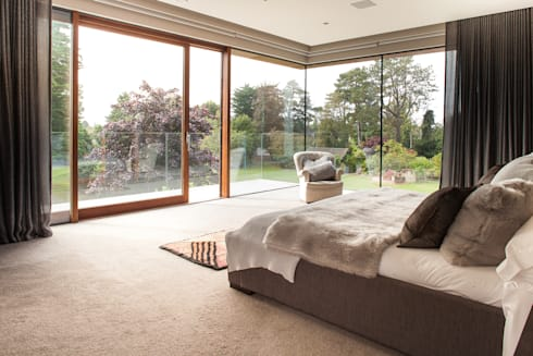 Des Ewing  Residential Architects: modern Bedroom by Des Ewing Residential Architects
