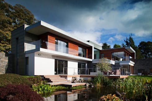 Des Ewing  Residential Architects: modern Houses by Des Ewing Residential Architects