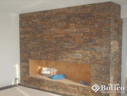 Fireplace Sheffield: modern Living room by Botico