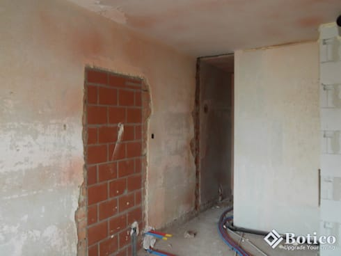 Sheffield Plastering Project: modern Houses by Botico
