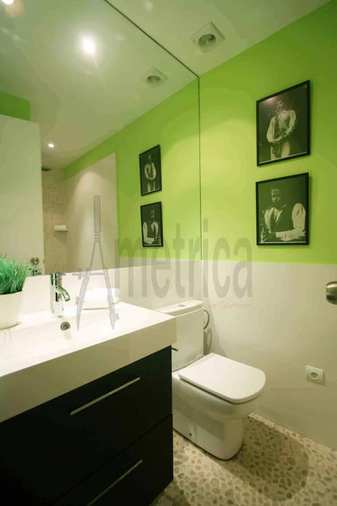 ausgefallene Badezimmer von Ametrica & Interior, S.L.