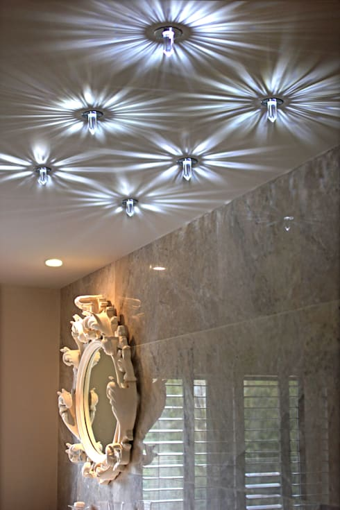 eclectic Corridor, hallway & stairs by Asco Lights