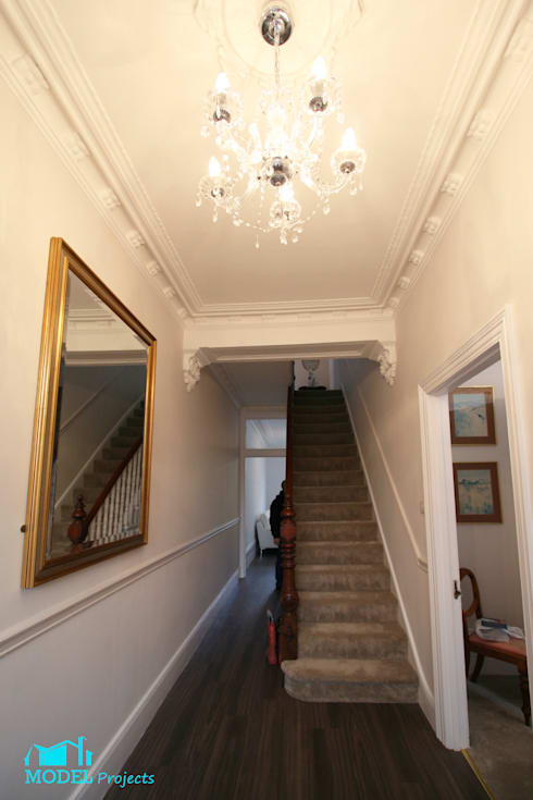 Entrance Hall : classic Kitchen by Model Projects Ltd