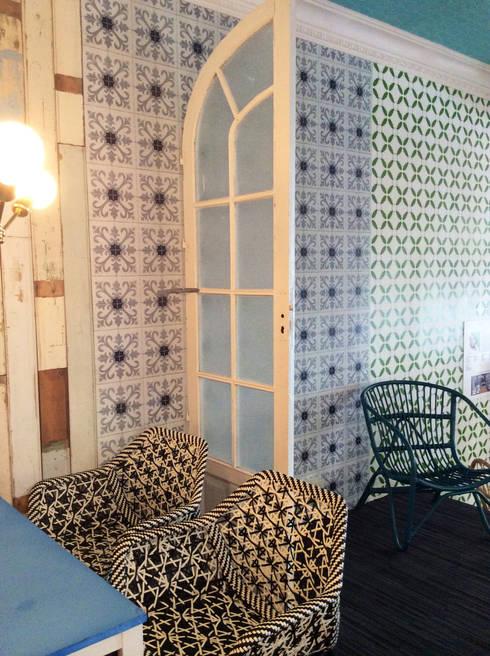 Casa Decor: Comedores de estilo ecléctico de Anticuable.com