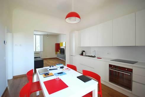 Casa LP: Sala da pranzo in stile in stile Moderno di Arch. Alessandro Interlando