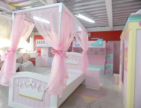 Recamaras para princesas de camas y literas infantiles - Camas individuales infantiles ...