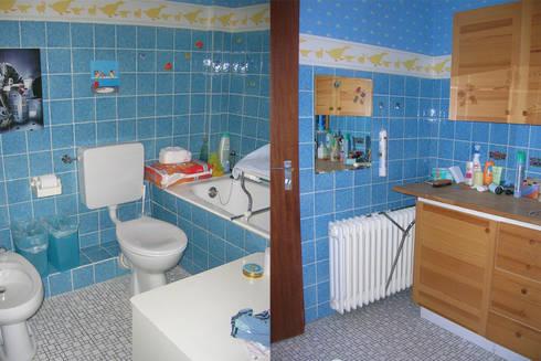 Das alte Bad:   von Wohnwert Innenarchitektur