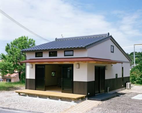 外観: 株式会社 遊墨設計が手掛けた家です。