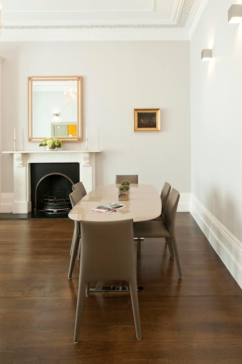 Redcliffe Gardens: classic Dining room by Ardesia Design