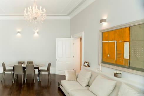 Redcliffe Gardens: classic Living room by Ardesia Design