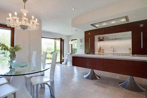 Kitchen : eclectic Kitchen by Stunning Spaces Ltd