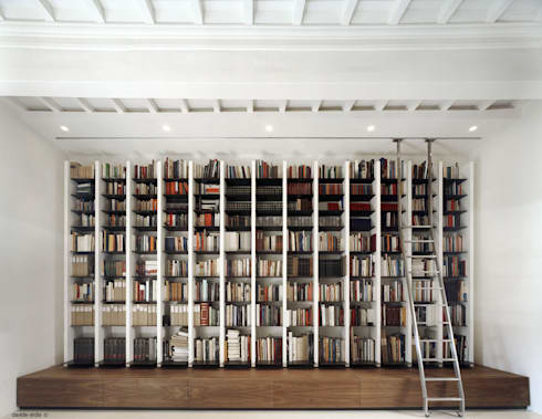 Appartamento in centro a Firenze: Studio in stile in stile Eclettico di beatrice pierallini