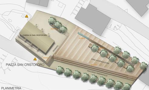 Interventi di riqualificazione urbanistica ed arredo urbano della piazza S.Cristoforo:  in stile  di beatrice pierallini