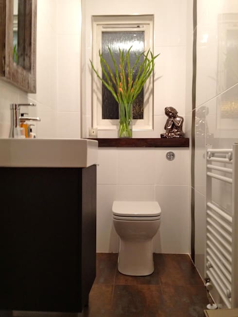 After: modern Bathroom by Isolution Interiors