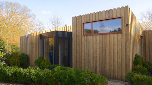 Pond House_Passive House (Passivhaus): modern Houses by Forrester Architects