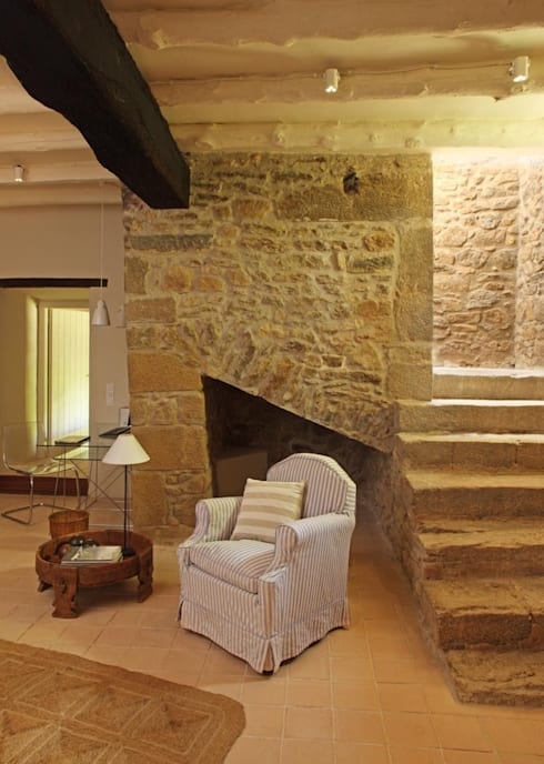 Proyecto iluminaci n restauraci n de una casa r stica de - Iluminacion led para casa ...